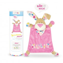 Kit couture Doudou Lapin rose Kullaloo