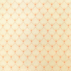 Polyester Eco-responsable Baikal Japon. Eventails corail pastel. Oekotex 100