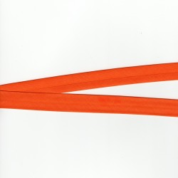 Biais Orange Tout Textile 20mm